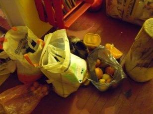 Comida reciclada