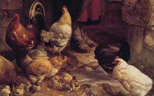 chickens_feeding-hans_thoma_traditional_day_1680x1050_hd-wallpaper-47780