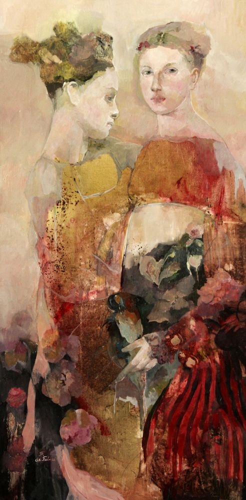 huile sur toile, 100 x 50 cm, 2012